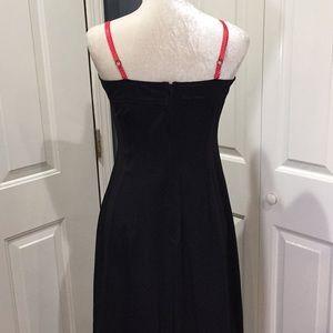 Blest Dresses - Rockabilly little black dress Minnie polka dots M